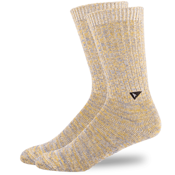 Arvin Goods - Casual Sock Twisted Cotton - Yellow Mix