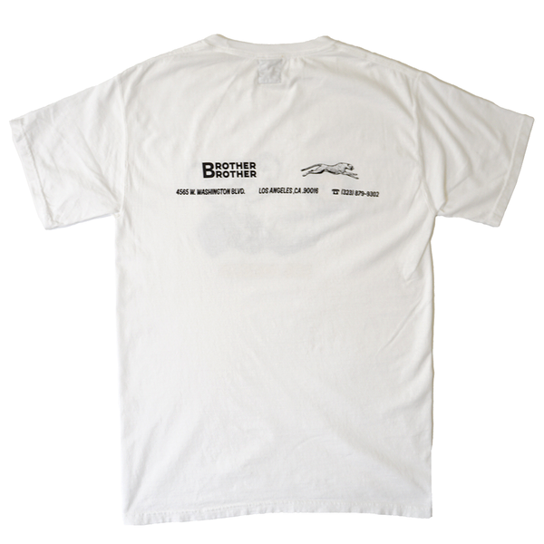 Brother Brother- Selector Tee- White
