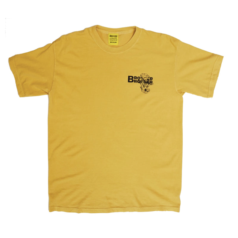 Brother Brother- Poppy Field Tee- Mustard