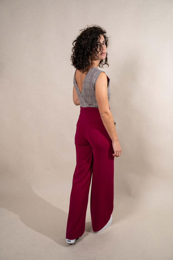 COMBI-PANTALON HERA CARREAU