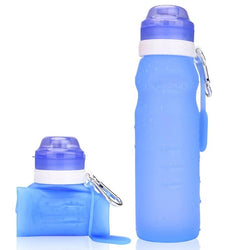 Collapsible Silicone Water Bottles
