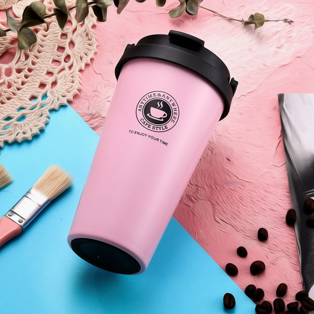Vacuum Insulated Tea Cup