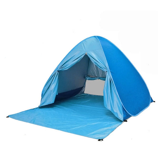 camping beach tent