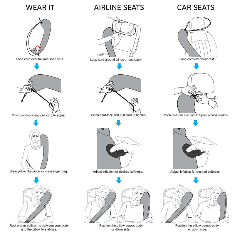 Ergonomic Neck Travel Pillow