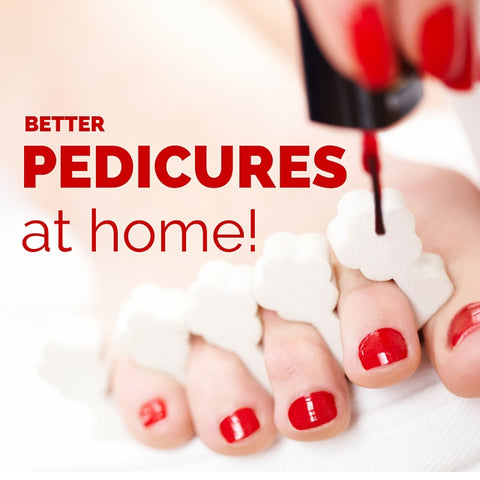 Tips and tricks to give yourself a salon pedicure at home
