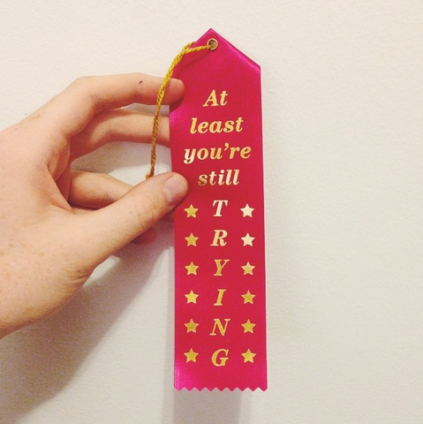 This ribbon is perfect for passive-aggressive coworkers.
