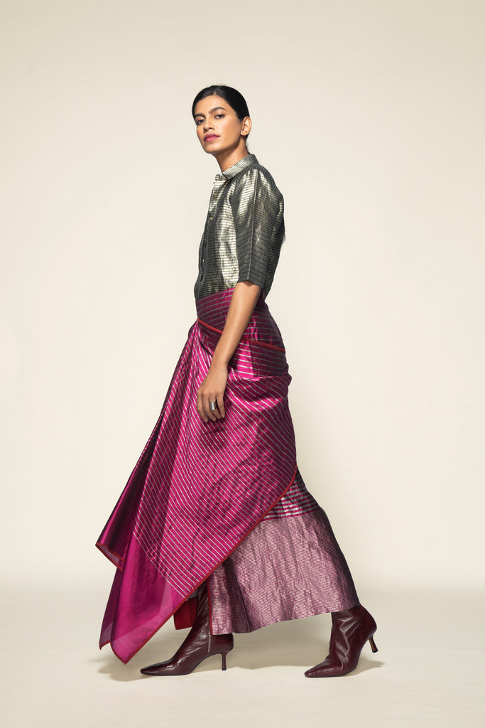 Handwoven Silk Skirt