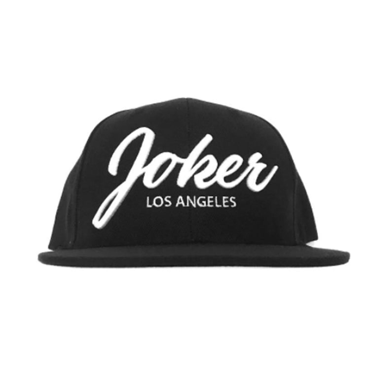 JOKER SCRIPY EMBROIDERED HAT