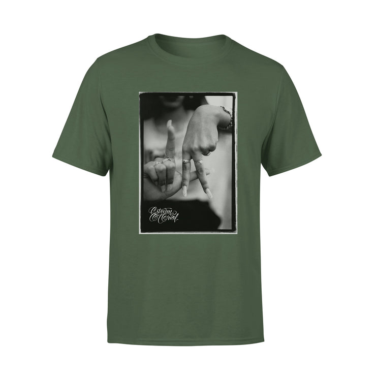 LA Hands Men's Military T-Shirt