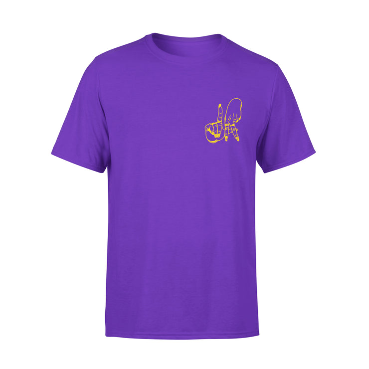 LA PURPLE FINGERS TSHIRT