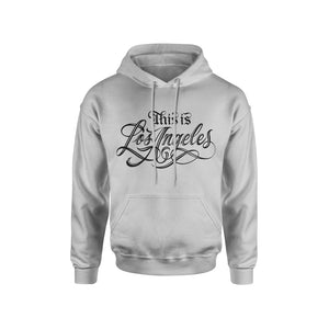 THIS IS LOS ANGELES GREY HOODIE