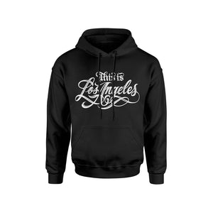 THIS IS LOS ANGELES BLACK HOODIE