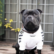 "Load image into Gallery viewer, ""WOOF"" Puppy's Streetwear Hooded Sweater"