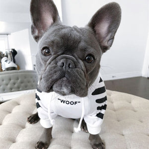 """WOOF"" Puppy's Streetwear Hooded Sweater"