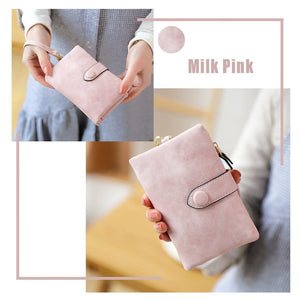 THE ONLY Women's Tri-Fold Wallet