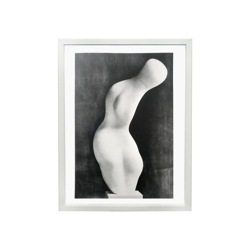"Repro photo "" Torse Gerbe"" de Jean Arp"