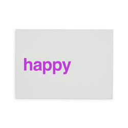 "carte ""happy"""