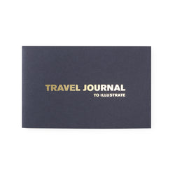 blue travel journal