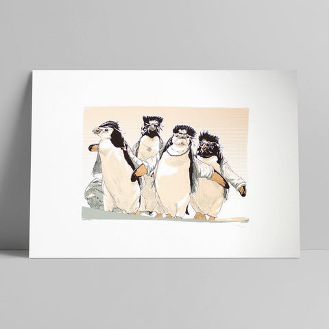 Third - Pinguins