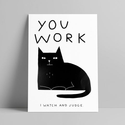 Lara Luís - You Work I Watch And Judge