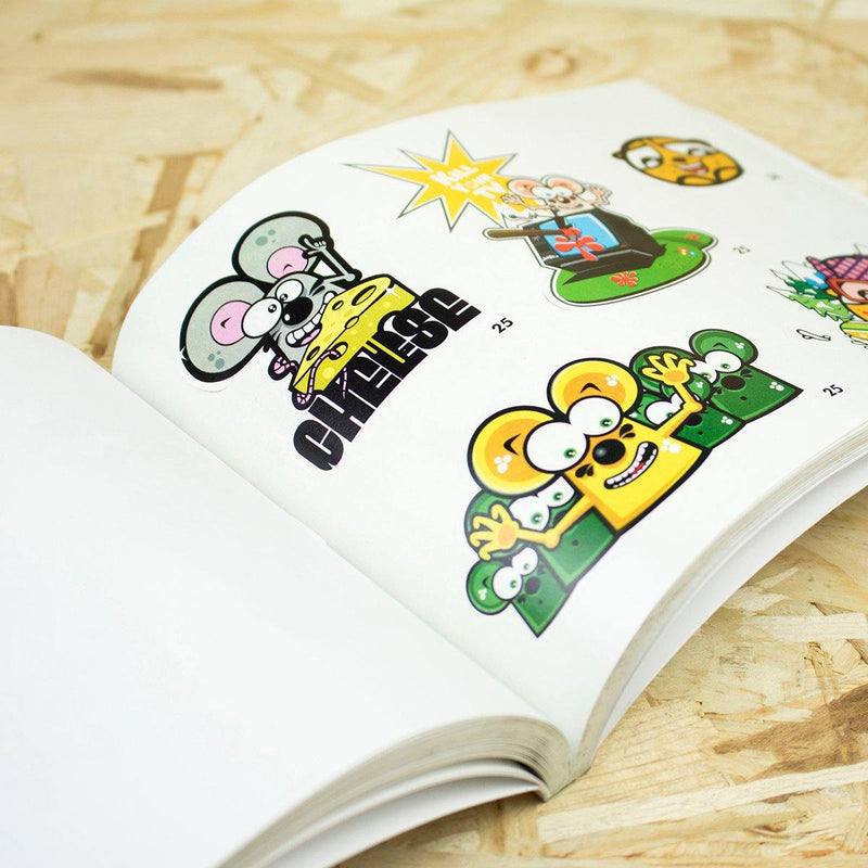 Sticky Icky - Livro Stickers - Circus Network Street Art and Illustration