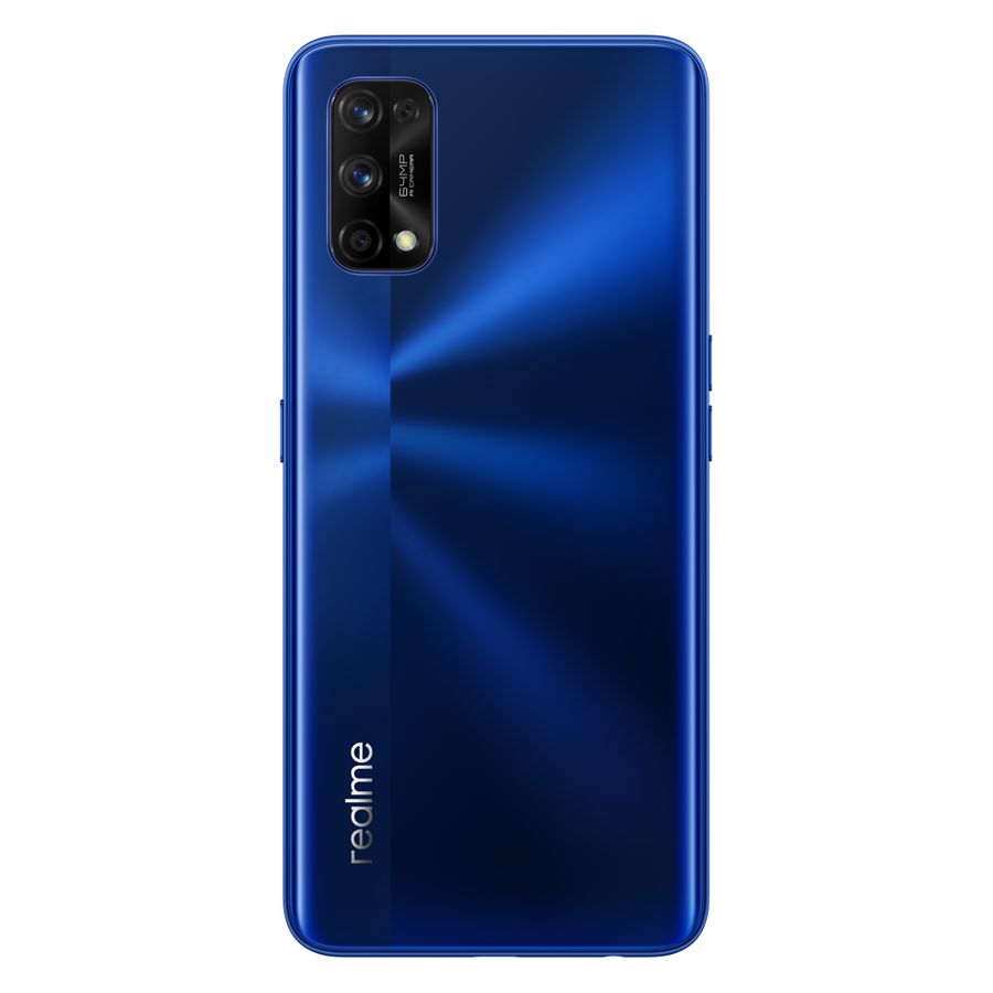 realme 7 Pro smartphone, Unlocked, Android, NFC, QuadCam, 65W Dart Charge, 8+128GB - 8GB + 128GB / Blue