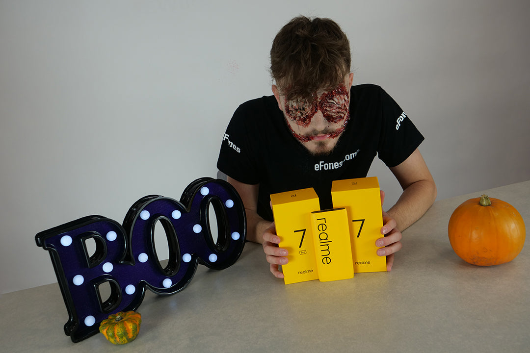 eFones realme 7 Series Halloween 2020 Deal - Free Power Bank 2 with any realme 7 or 7 Pro purchase