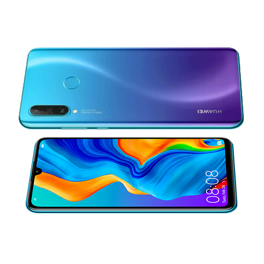 Huawei P30 Lite - 128GB / Peacock Blue