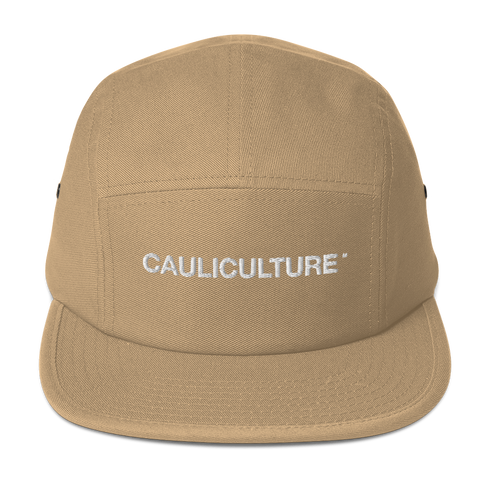 Cauli Logo 5 Panel Cap