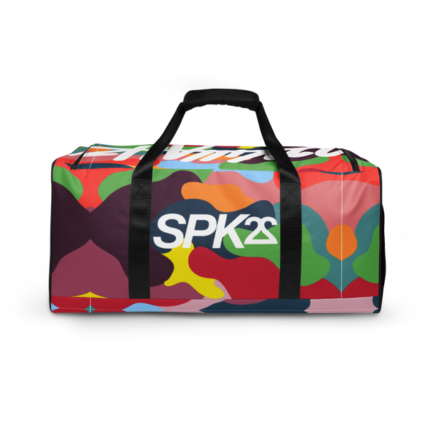 SPK22 ATHLETICS DUFFLE ( KILLAH CAMO )