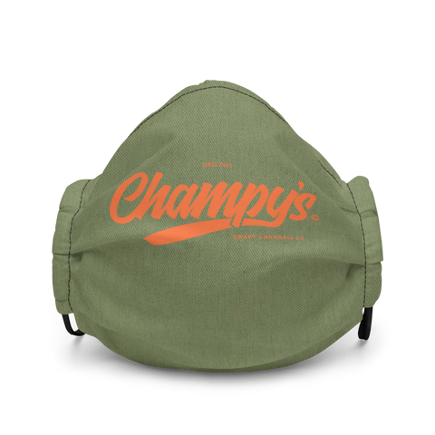 Champy's Official Logo Mask ( Army / Orange )