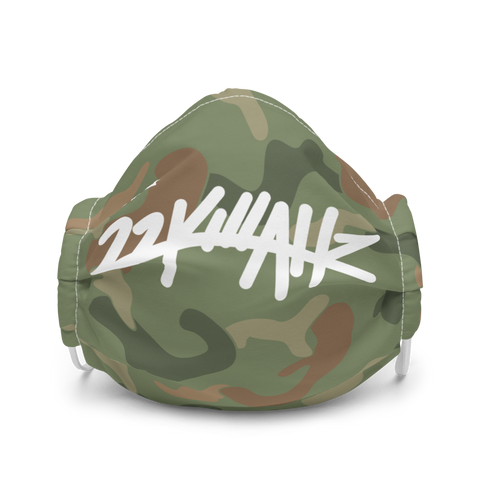 22Killahz Camo Premium face mask