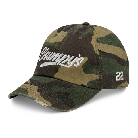 Champy's Craft Cannabis Co. Distressed Dad Cap