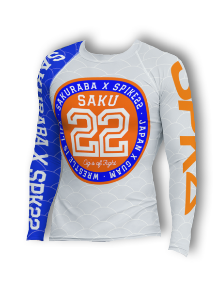 SAKU X SPK22 COLLAB Rash Guard