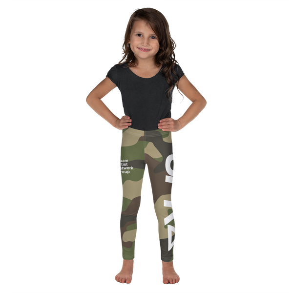 SPK22 Kid's Camo Leggings