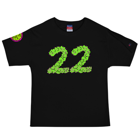 22 Purps Champion Tee by Mighty Marvy
