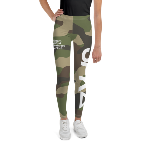 SPK22 x GANG CAMO Youth Leggings