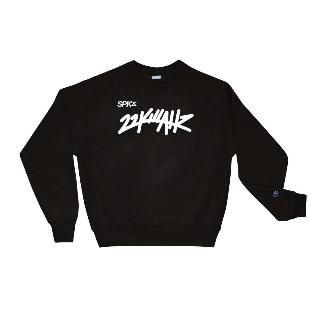 "22KILLAHZ ""ALLIANCES"" Champion Crewneck"