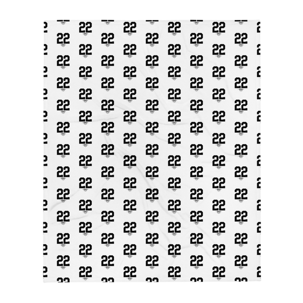 SPK22 Throw Blanket (50×60) White