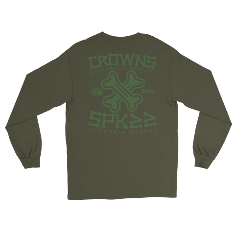 Crowns x SPK22 LS Tee (Army)