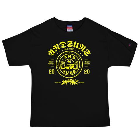 ANDSUNS GUAM X GANG X 22K Men's Champion T-Shirt
