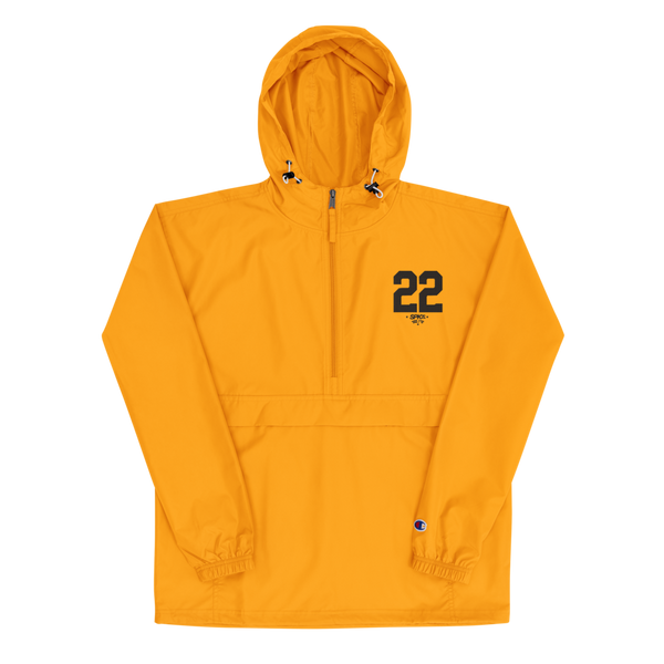 SPK22 X Champion Packable Jacket: Beez