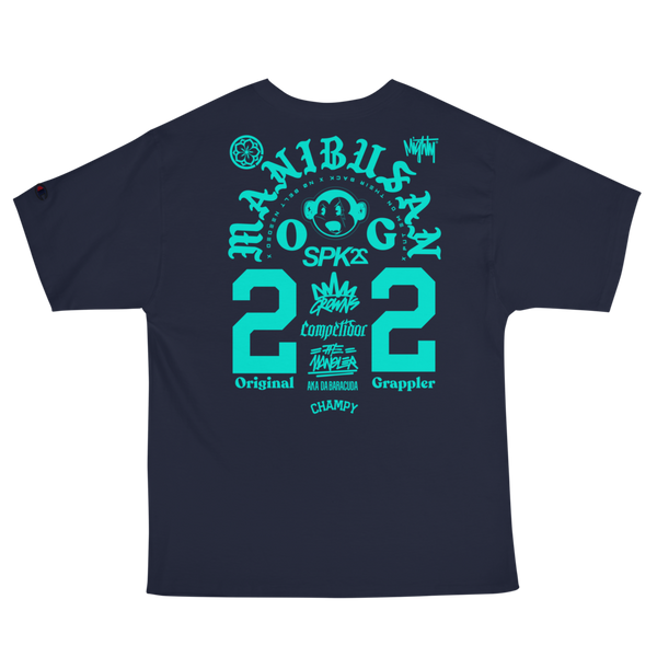 "LTD EDITION: DREAM ""MANIBUSAN"" FIGHT TEE (Teal)"
