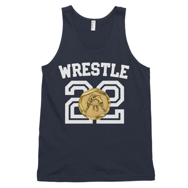 WRESTLE FOR GOLD Classic tank top (unisex)