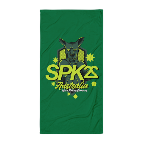 SPK22 Australia Beach Towel
