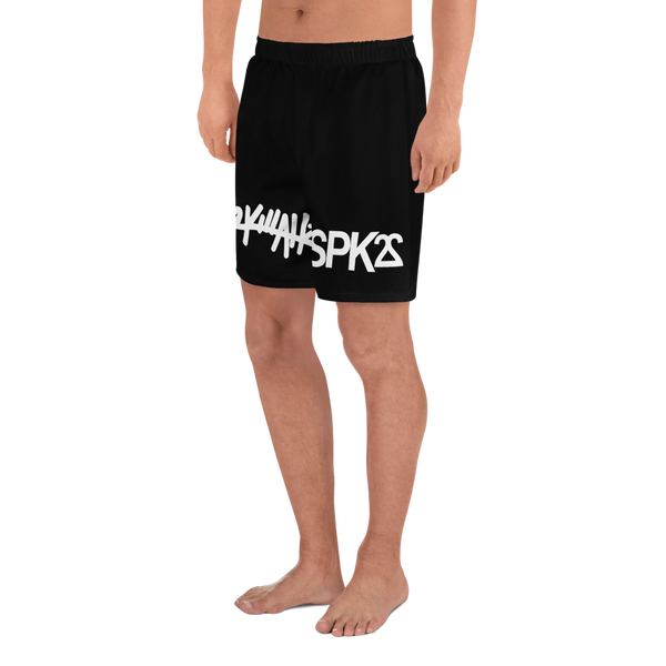 22 Killahz x SPK22: Men's Athletic Shorts: Black
