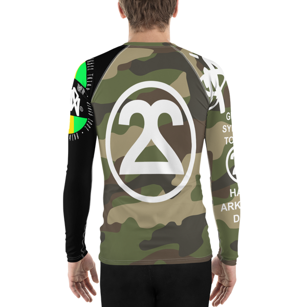SPK22ssyCAMO Men's Rash Guard
