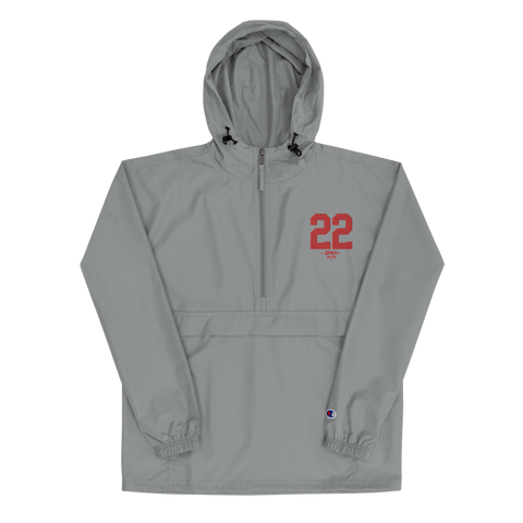 SPK22 X Champion Windbreaker: Red