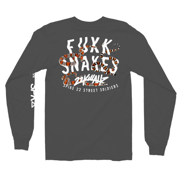 "GANG X 22K ""FVCK SNAKES"" Collab LS Tee"