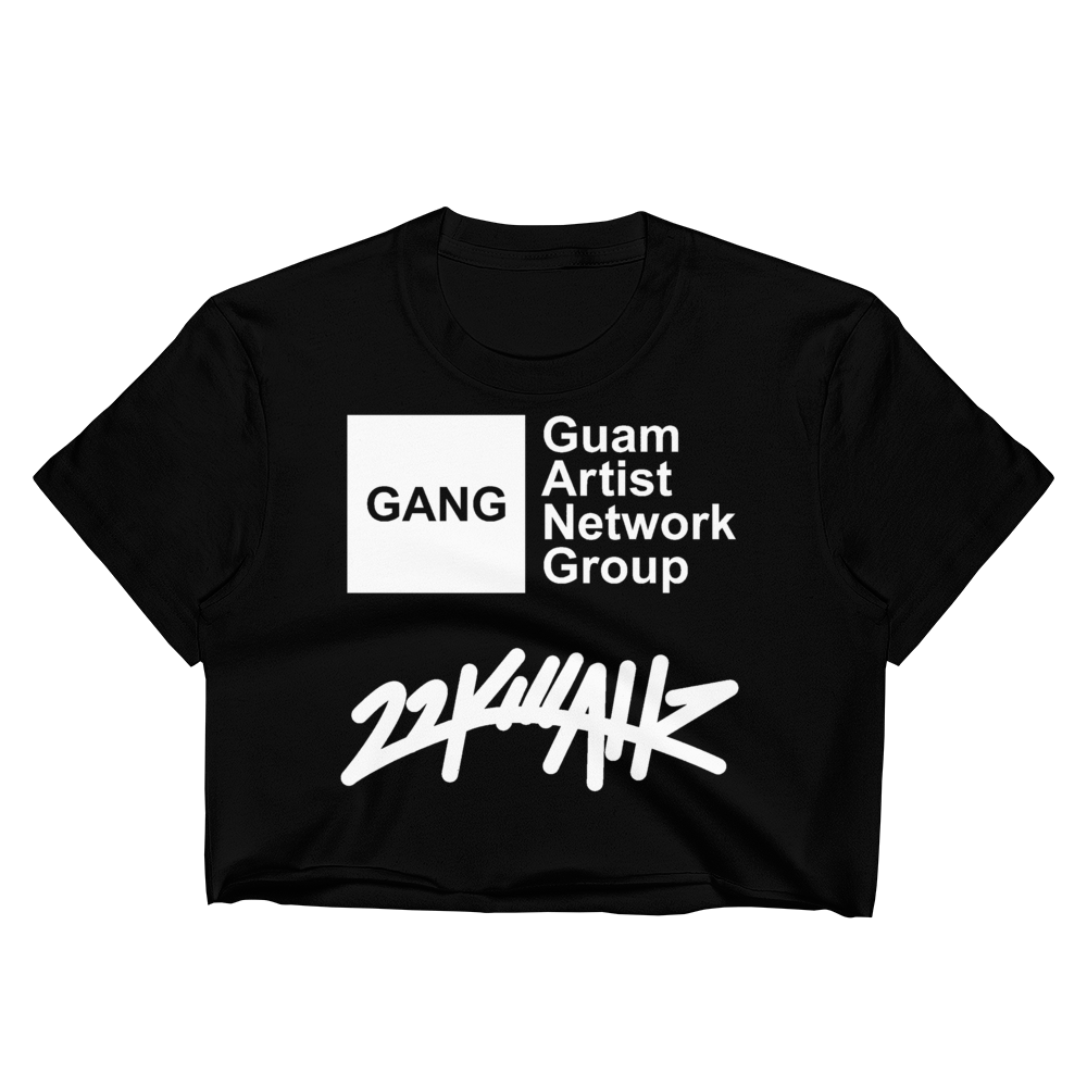 "22K x GANG ""FVCK SNAKES"" Women's Crop Top"